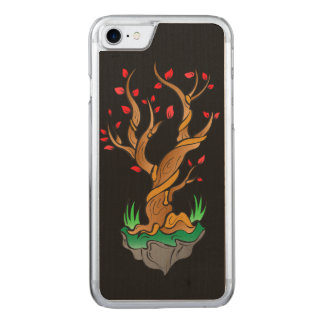Old Tree/New Growth Carved iPhone 7 Case