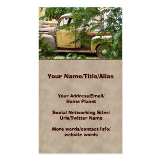 Old Truck Business Cards