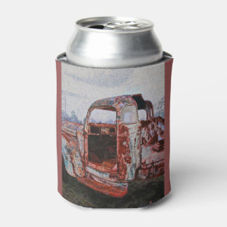 Old truck can cooler