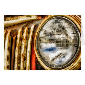 Old Truck Design Card
