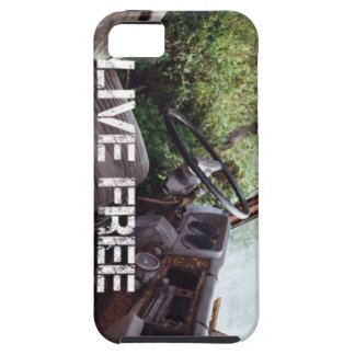 Old Truck, Live Free iPhone 5 Case