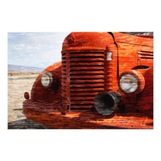 Old Truck Photo Print