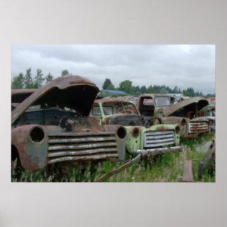 OlD Trucks Photo Print