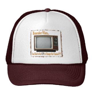 Old TV Cap Trucker Hat