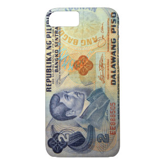 Old Twenty Pesos Philippine Money iPhone 8/7 Case