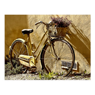 Old Two Wheeler Bike Postcard