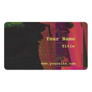 Old Typewriter Abstract Business Card Template