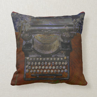 Old Typewriter American MoJo Pillow