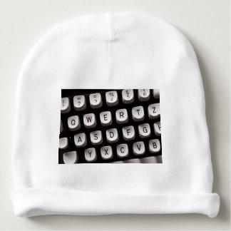 Old_Typewriter Baby Beanie