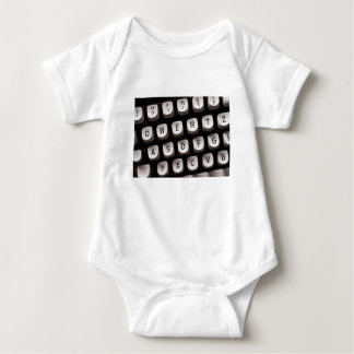 Old_Typewriter Baby Bodysuit