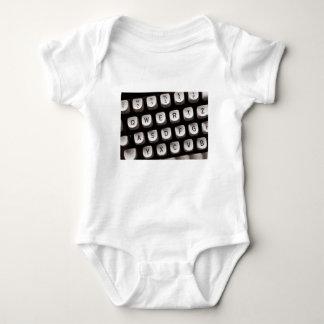 Old Typewriter Baby Bodysuit