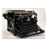 Old Typewriter Cards