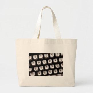 Old_Typewriter Large Tote Bag