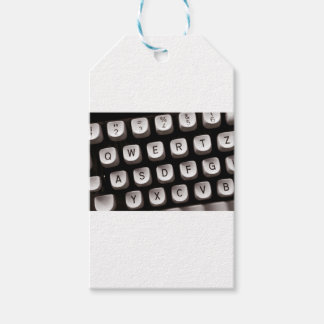 Old Typewriter Pack Of Gift Tags