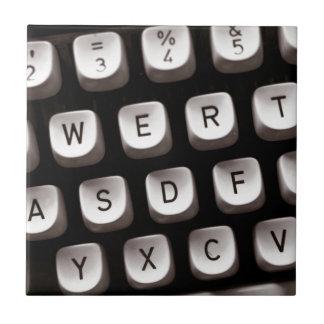 Old Typewriter Tile