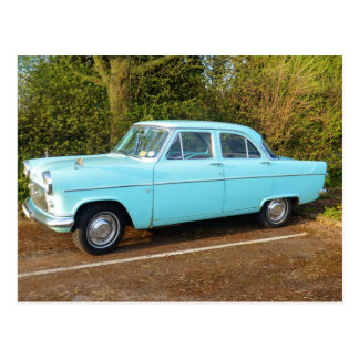 Old UK Ford Consul Postcards
