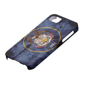 Old Utah Flag; Case For The iPhone 5