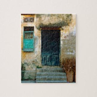 Old Vietnamese embankment Jigsaw Puzzle