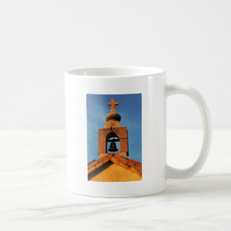 Old village church on the island Pag in Croatia Coffee Mug