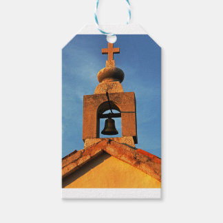 Old village church on the island Pag in Croatia Gift Tags