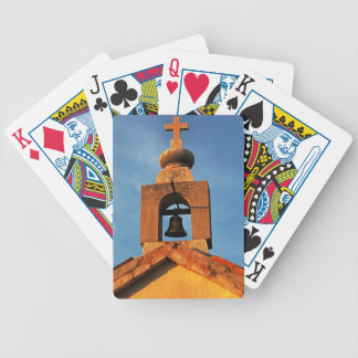 Old village church on the island Pag in Croatia Poker Deck