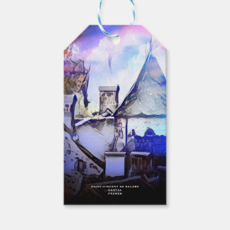 OLD VILLAGE IN FRANCE GIFT TAGS