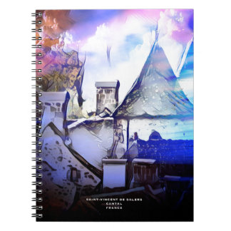 OLD VILLAGE IN FRANCE NOTEBOOK