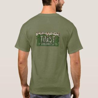 Old Vintage Colorado License PlateTruck  Shirt