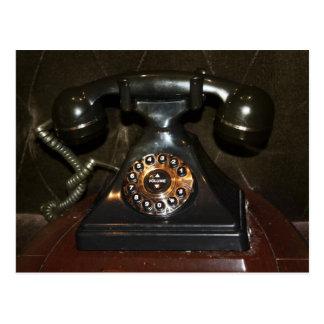 Old Vintage Dial-up Phone Postcard