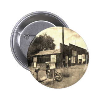 Old Vintage Gas Station Pinback Buttons