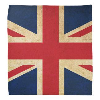 Old Vintage Grunge United Kingdom Flag Union Jack Bandana