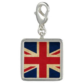 Old Vintage Grunge United Kingdom Flag Union Jack Charm