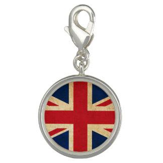 Old Vintage Grunge United Kingdom Flag Union Jack Charms
