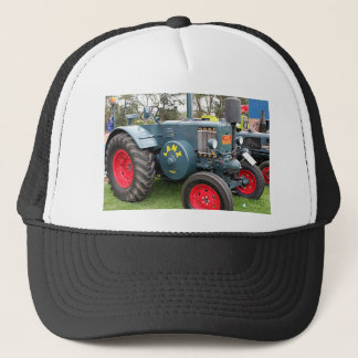 Old vintage Lanz Bulldog tractor farm machinery Trucker Hat