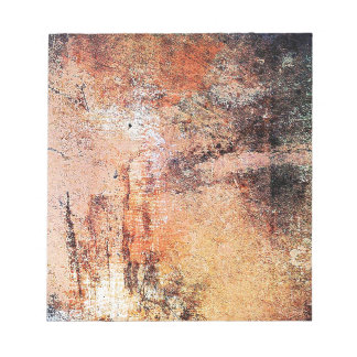 old vintage rusty brown art burn smoke Abstract An Notepads