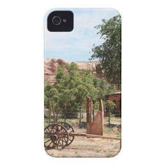 Old wagon, pioneer village, Utah 2 iPhone 4 Case