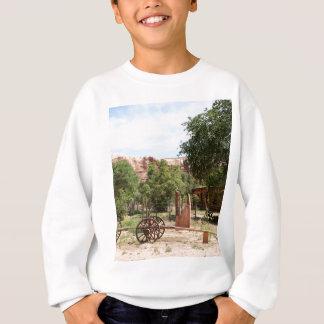 Old wagon, pioneer village, Utah 2 Sweatshirt