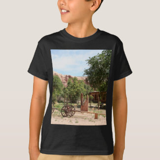 Old wagon, pioneer village, Utah 2 T-Shirt