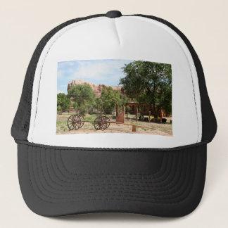Old wagon, pioneer village, Utah 2 Trucker Hat