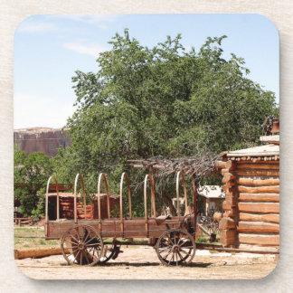 Old wagon, pioneer village, Utah Coaster