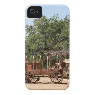 Old wagon, pioneer village, Utah iPhone 4 Cases