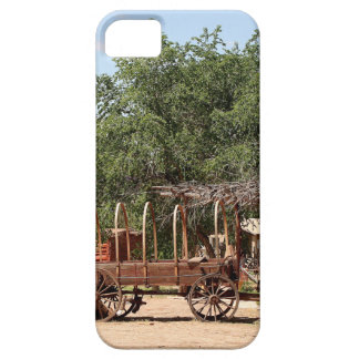 Old wagon, pioneer village, Utah iPhone 5 Case