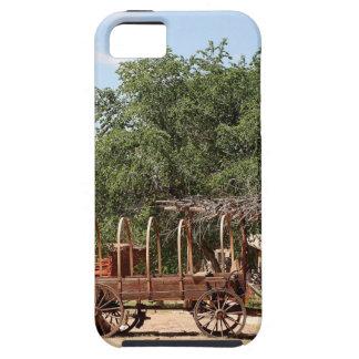 Old wagon, pioneer village, Utah iPhone 5 Cases