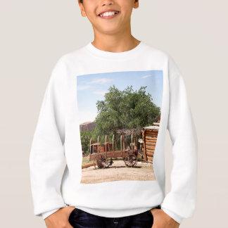 Old wagon, pioneer village, Utah Sweatshirt