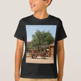 Old wagon, pioneer village, Utah T-Shirt