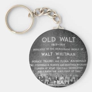 Old Walt Keychain