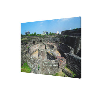 Old Watchtower Ruins Canvas Print
