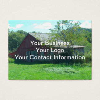 Old Weathered Barn Business Card