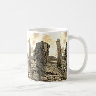 Old Weathered Net Posts West of Scotland Mug