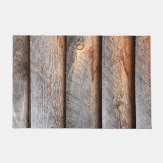 Old Weathered Wood Boards Doormat